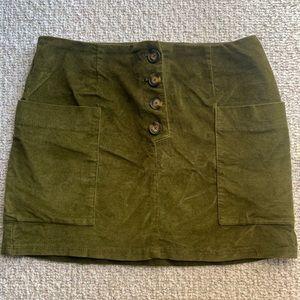 Fall mini skirt ✨